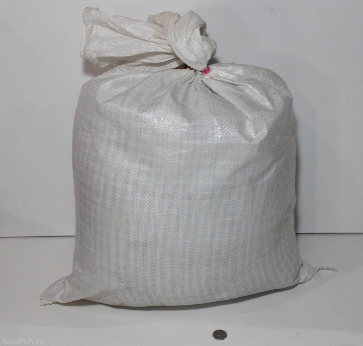 Мешок 10 кг скорлупы кедрового ореха - СамПух.ру